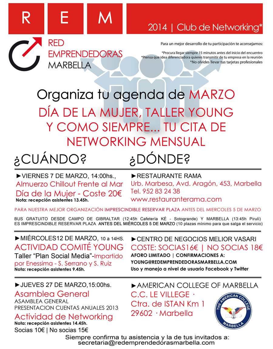 Carta Club Networking 8 de enero de 2014-amupema