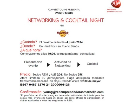 networking rem en hard rock cafe