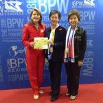 BPW INTERNACIONAL TIENE NUEVA PRESIDENTA PARA EL TRIENIO 2014-2017