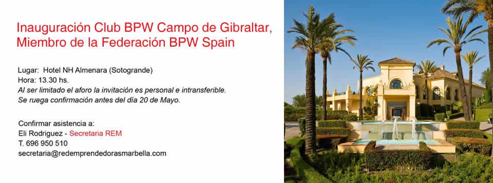 Inauguración Club BPW Campo de Gibraltar