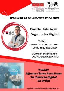 Webinar REM 13 noviembre 2.020